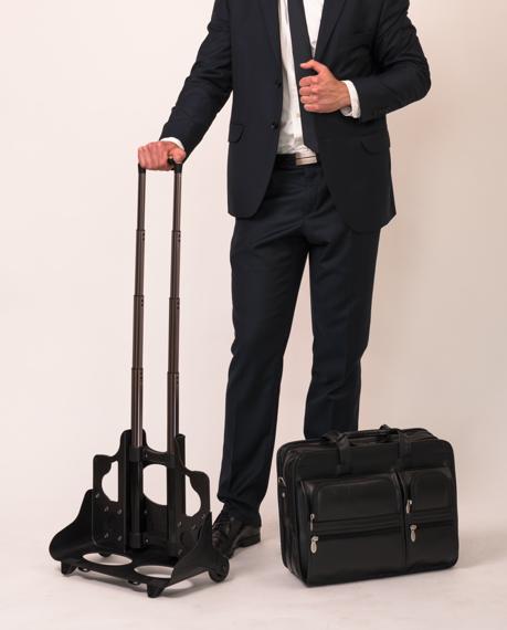 """Męska torba Clinton z nylonu balistycznego 17"""""""