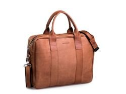 Leather Bag Brodrene Light Brown