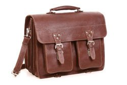 Leather Business Satchel VOOC Crazy Horse TC12