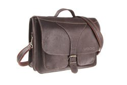 Leather shoulder bag VOOC Crazy Horse TC1