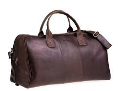 Travel Bag Brodrene Dark Brown