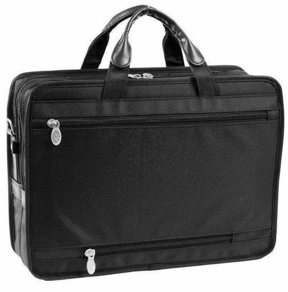 """15.6"""" Double Compartment Laptop Case Mcklein Hubbard"""