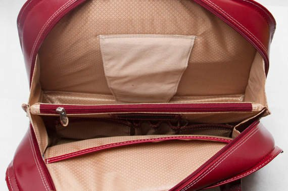 "15.6"" Leather Fly-Through™ Checkpoint-Friendly Ladies' Briefcase Mcklein Oak Grove"