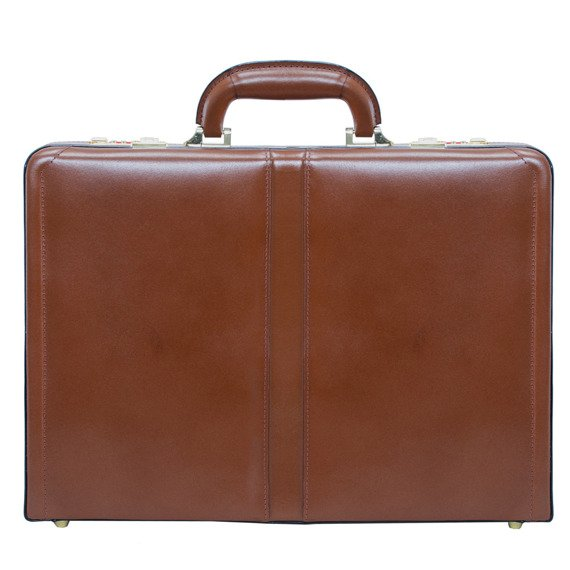 Leather Attache Case Mcklein Reagan