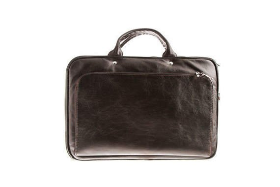 "Leather Laptop bag 5,6"" VOOC Prestige EP7"