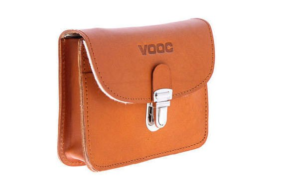 Leather belt pouch Vintage VOOC P11
