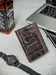 Ekskluzywny portfel skórzany męski skóra naturalna
