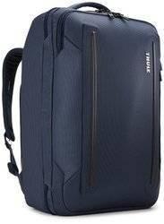 Plecak biznesowy miejski, torba podręczna kabinowa 41 litrów Thule Crossover 2 Granatowa