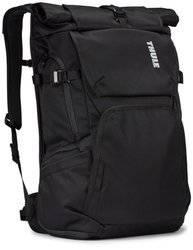 "Plecak fotograficzny duży Plecak na laptopa 15,6"" Thule Covert DSLR Backpack Czarny"