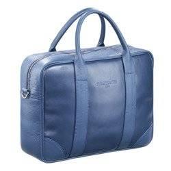 """Skórzana torba biznesowa na laptopa 15,6"""" na ramię Sempertus"""