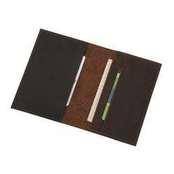 Skórzane etui na paszport, dokumenty lub dowód rejestracyjny Sempertus EP-01/CH Brązowe
