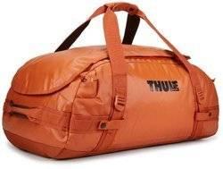 Torba sportowa, plecak sportowy, 70 litrów Thule Chasm Pomarańczowa