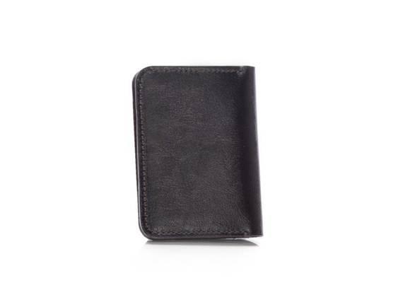 Cienki skórzany męski portfel z bilonówką SOLIER SW16 SLIM CIEMNY BRĄZ