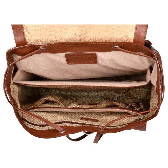 Ekskluzywny skórzany plecak męski Hagen Czarny