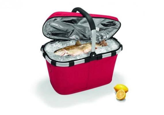 Koszyk na zakupy z termoizolacją Reisenthel model Carrybag Shopping czerwony