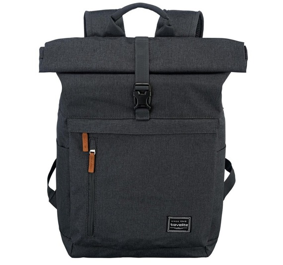 Plecak antykradzieżowy rollowany plecak na laptopa Travelite Basics