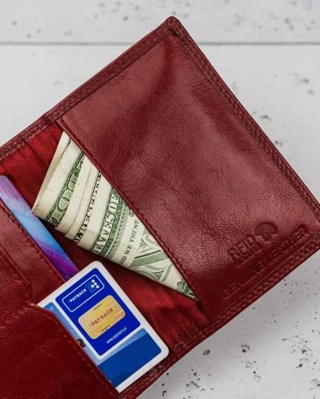 Rewelacyjne skórzane etui na karty Rovicky® RFID