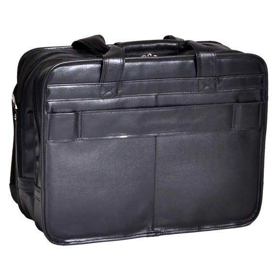 "Skórzana Męska torba podróżna na laptopa Roosevelt 17"""