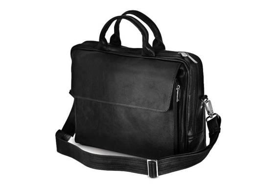 """Skórzana męska torba, na laptop 15,4"""" Solier Rothen SL30"""
