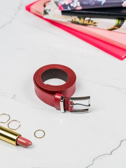 Skórzany pasek damski Rovicky szerokość 2,50 cm