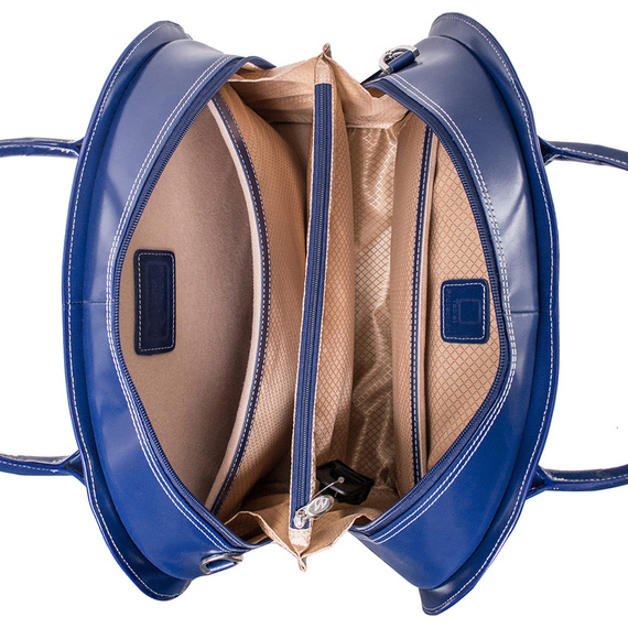 Torba damska na laptopa 2w1 Granat Glen Ellyn 15,6""