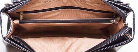 """Torba na laptopa Winnetka, skóra naturalna, kolor czarny 15,6"""""""