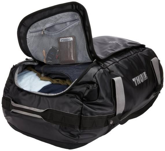 Torba podróżna, sportowa, plecak sportowy, 90 litrów Thule Chasm Oliwkowa