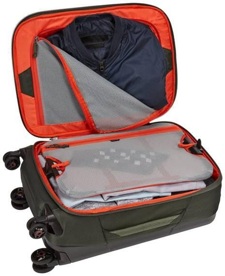 Walizka podróżna kabinowa mała 4 kółka 33 litry Thule Subterra Zielona